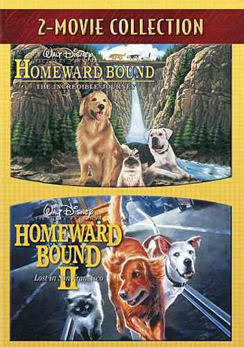 HOMEWARD BOUND:INCREDIBLE JOURNEY/HOM (DVD)